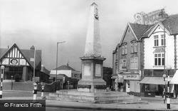 The War Memorial c.1960, Westbury On Trym