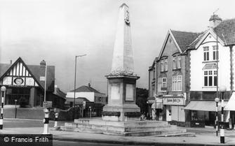 Westbury on Trym, the War Memorial c1960