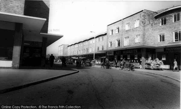 Photo of Westbury, Shopping Centre c.1965