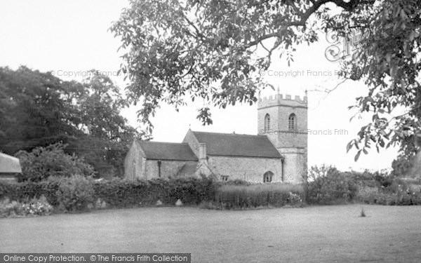 Photo of Westbury Sub Mendip, St Lawrence Church c.1955