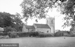 Westbury-Sub-Mendip, St Lawrence Church c.1955, Westbury-Sub-Mendip