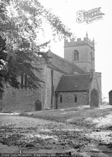 Photo of Westbury Sub Mendip, The Church c.1955