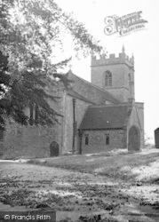 Westbury-Sub-Mendip, The Church c.1955, Westbury-Sub-Mendip