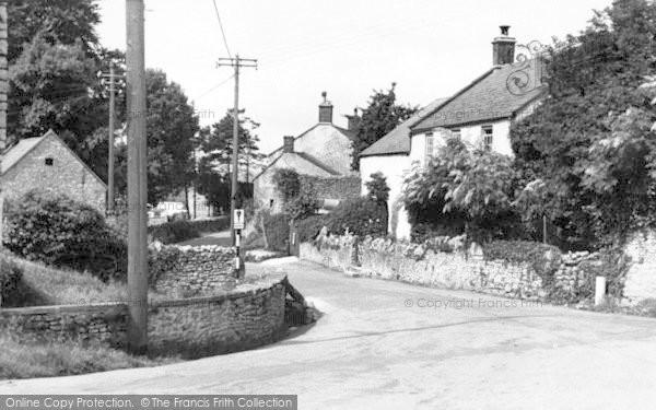 Photo of Westbury Sub Mendip, The Hollow c.1955