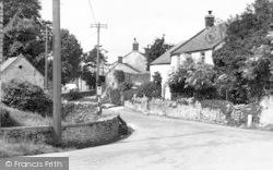 Westbury-Sub-Mendip, The Hollow c.1955, Westbury-Sub-Mendip