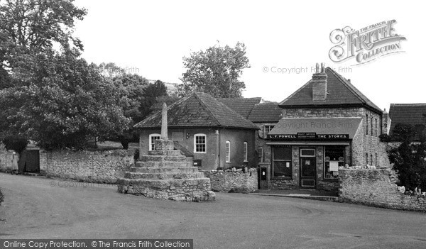 Photo of Westbury Sub Mendip, The Post Office c.1955