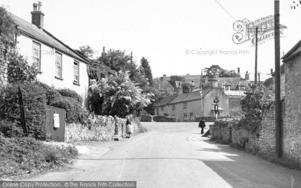 Photo of Westbury Sub Mendip, The Square c.1955
