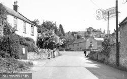 Westbury-Sub-Mendip, The Square c.1955, Westbury-Sub-Mendip