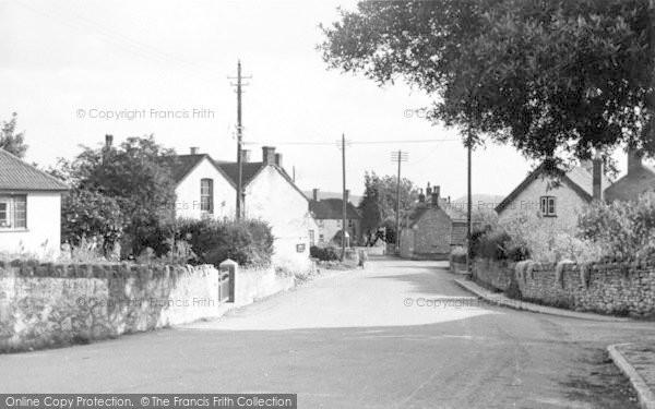 Photo of Westbury Sub Mendip, The Village c.1955