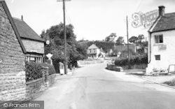Westbury-Sub-Mendip, The Village c.1955, Westbury-Sub-Mendip