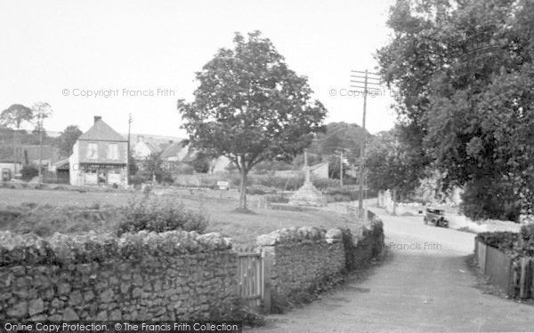 Photo of Westbury Sub Mendip, View From The Church c.1955