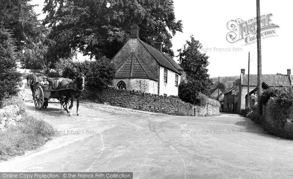 Photo of Westbury Sub Mendip, View From The Square c.1955