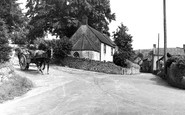 Westbury-Sub-Mendip, view from the Square c1955