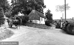 Westbury-Sub-Mendip, View From The Square c.1955
