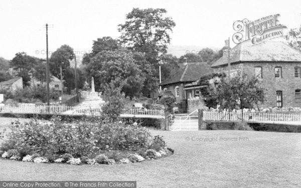 Photo of Westbury Sub Mendip, Village Cross c.1955