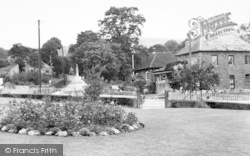 Westbury-Sub-Mendip, Village Cross c.1955, Westbury-Sub-Mendip