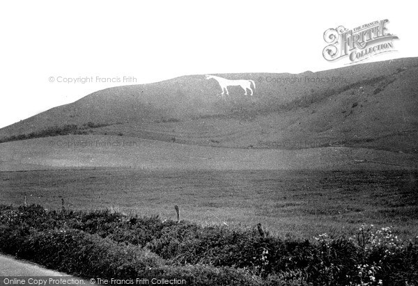 Photo of Westbury, The White Horse c.1955