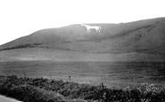Westbury, the White Horse c1955