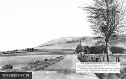 Westbury, The White Horse c.1955