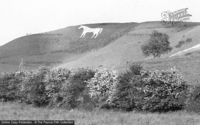 Photo of Westbury, The White Horse c.1965