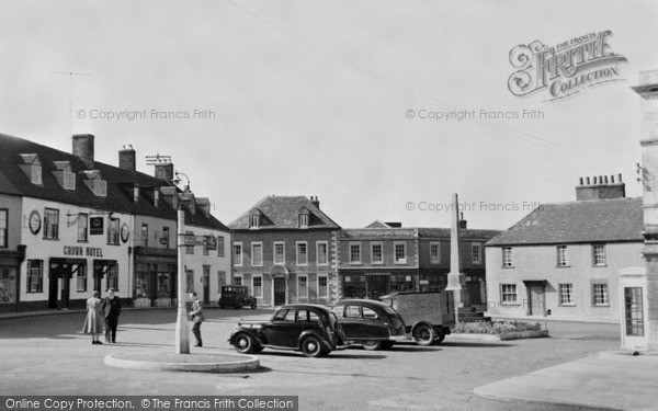 Photo of Westbury, Town Centre c.1950