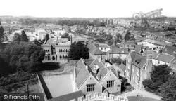 Westbury, View From Church Tower c.1965
