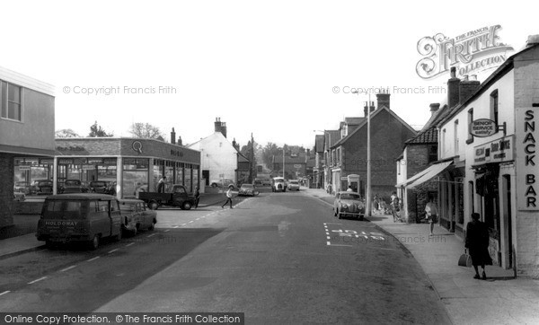 Westbury, Warminster Road c1960