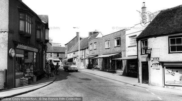 Photo of Westbury, Warminster Road c.1965