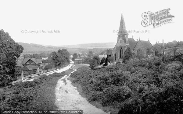 Photo of Westcott, 1890