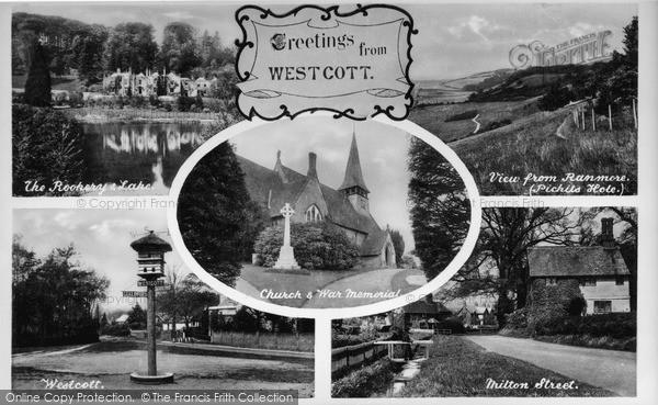 Photo of Westcott, Composite c.1955