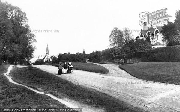 Photo of Westcott, Hillside 1906
