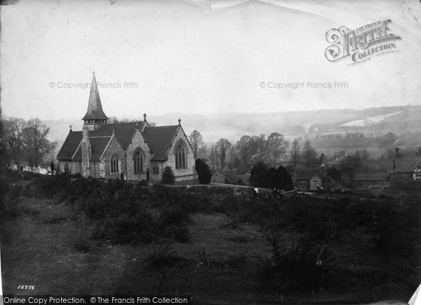 Photo of Westcott, Holy Trinity Church 1890