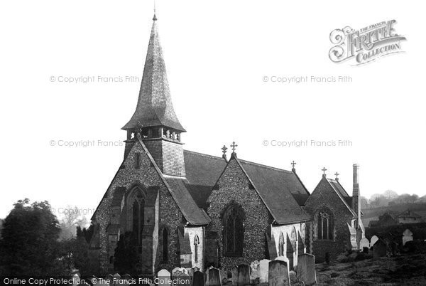 Photo of Westcott, Holy Trinity Church 1890