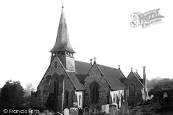 Holy Trinity Church 1890, Westcott