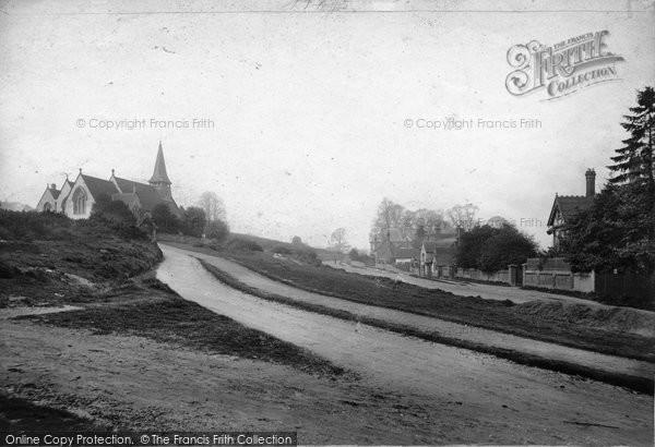 Photo of Westcott, Holy Trinity Church And Common 1906