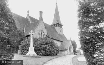 Westcott, Holy Trinity Church and War Memorial 1921