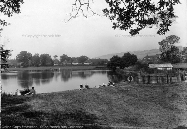 Photo of Westcott, Mill Pond 1925