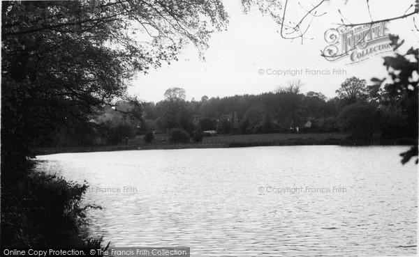 Photo of Westcott, The Mill Pond c.1955