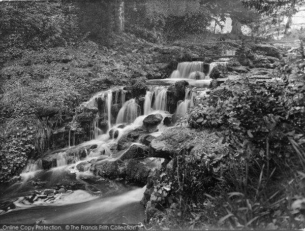 Photo of Westcott, The Rookery Waterfall 1929