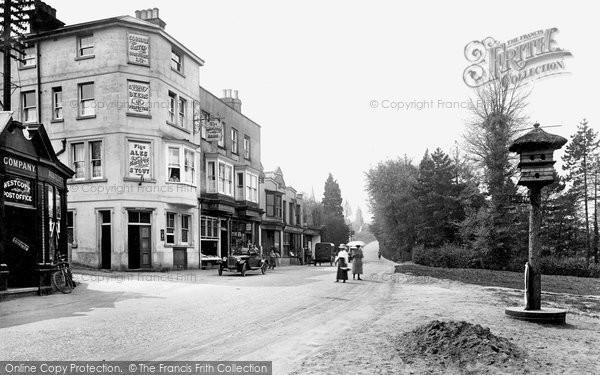Photo of Westcott, The Village 1922