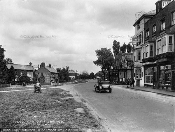 Photo of Westcott, The Village 1927