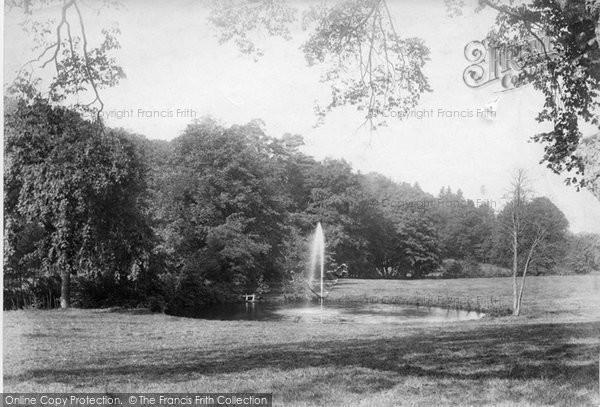 Photo of Westcott, Tillingbourne, The Fountain 1906
