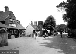 Westcott, Village 1925