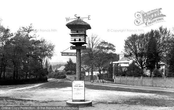 Photo of Westcott, Village Sign 1922