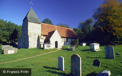 All Saints Church c.1980, Westdean