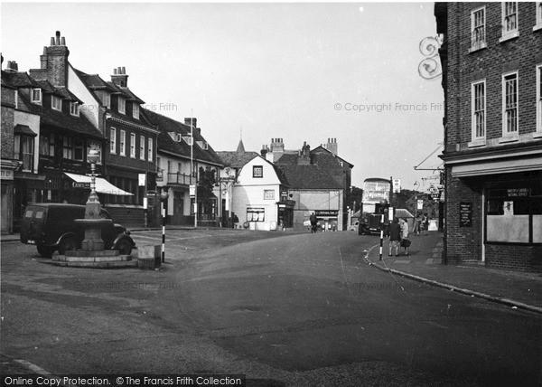 Photo of Westerham, c.1955