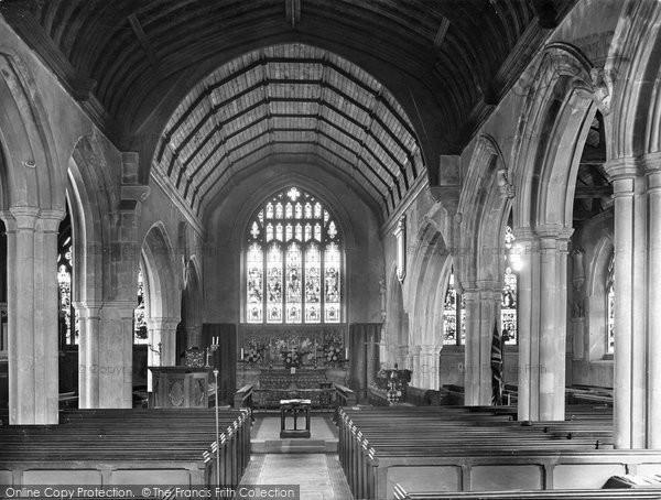 Photo of Westerham, Church Interior 1925