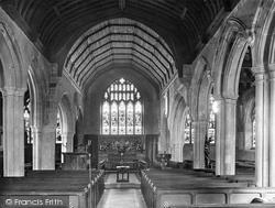 Church Interior 1925, Westerham