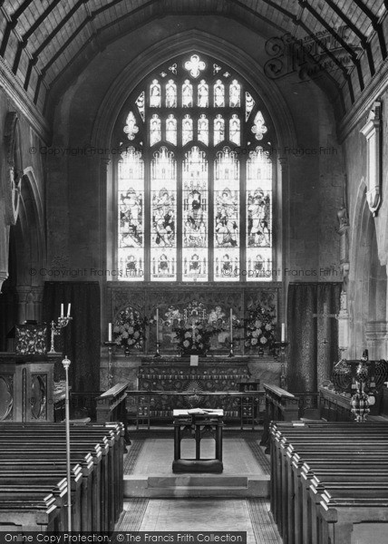 Photo of Westerham, Church Interior 1925