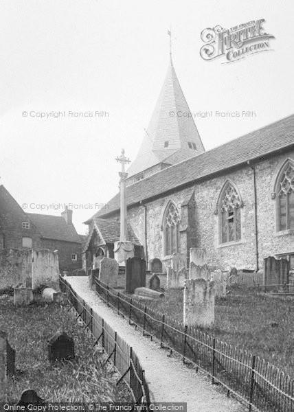 Photo of Westerham, Church Of St Mary The Virgin 1925